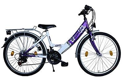 26 Zoll Fahrrad 18 Gang Shimano Kettenschaltung StVZO Lila mit ALUFELGEN