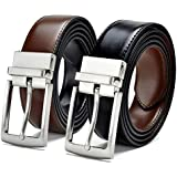 ZORO Reversible PU belt for men, formal black and brown belt, gift for gents, gents belt, mens belt RSTX-04T