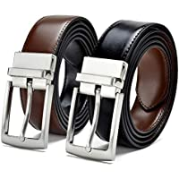 ZORO Reversible PU belt for men, formal black and brown belt, gift for gents, gents belt, mens belt RSTX-04T