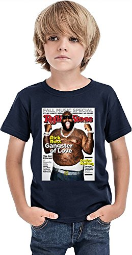 Rick Ross Rolling Stone Cover Boys T-shirt 12+ yrs -