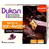 Dukan Barres de Son d'Avoine Extra-Gourmand 120 g - Lot de 6