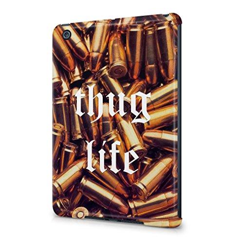 Maceste Thug Life Golden Bullets Kompatibel mit Apple iPad Mini 1 SnapOn Hard Plastic Tablet Protective Fall Handyhülle Case Cover (Bandana Ipad Case Mini)
