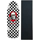 POWELL PERALTA Skateboard Deck OG Ripper Checker Re-Issue with GRIP
