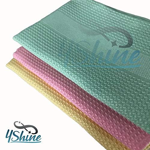 4Shine Putztücher 4Shine Microfaser Fenster Tücher Bezleri 3`er Pack