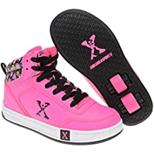Sidewalk Deporte Ninos Hi Top Chicas Skate Zapatos Zapatillas Calzado Deporte