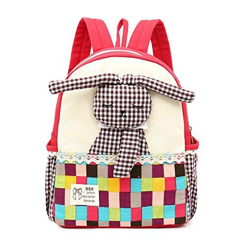 Imagen de fristone  para niños bebés  para niños con conejo mascotas para guardería niños roja