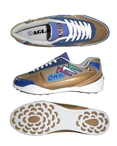 2a7185d50 AGLA PROFESSIONAL ONE EXE OUTDOOR scarpe calcetto futsal calcio a 5 anti-shock  system