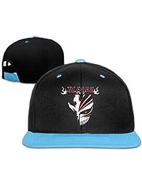 Bleach Logo Designed Unisex Child Hiphop Hat Cotton Cool Royalblue