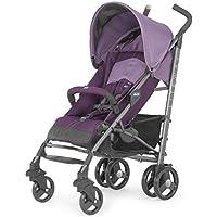 Chicco Liteway Lightweight Stroller 1seat (s) Noir, Violet–Poussette (Lightweight Stroller, 36mois (es), 1seat (s), noir, violet, UMPC, fixe, Pen)