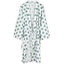 Fancy Pumpkin Bata de Algodón Japonesa para Mujer Bata de Pijama Kimono [Talla ...