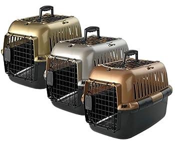 Boîte de transport cage Boîte de transport pour Chats et Petits Chiens 49x 32x 32cm