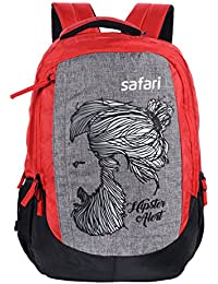 Safari 42 Ltrs Red Casual Backpack (HIPSTERPLUS18CBRED)