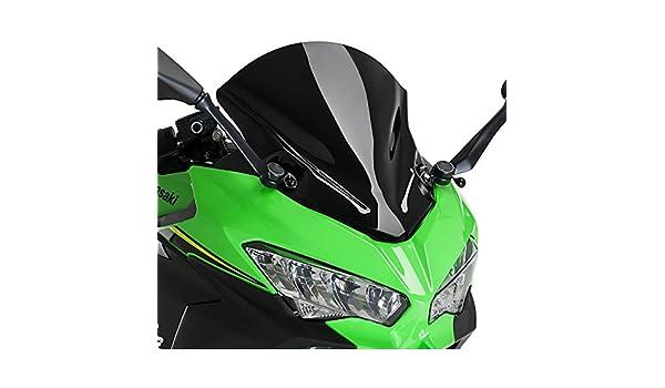 Racingscheibe Puig Kawasaki Ninja 400 18-19 schwarz Windschutz
