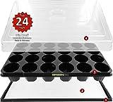 Hydroponik 24 Zimmergewächshaus XL Pro mit automatischer Bewässerung für die