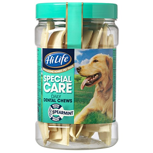 HiLife Special Care Spearmint Jar Daily Dental Dog Chews