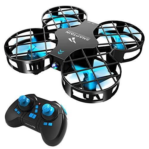 SNAPTAIN H823H Drone Enfant Mini Quadrirotor Avion avec Télécommande avec Les Fonctions Mode sans Tête, Maintien d'altitude, Opération à Un Bouton, 360°Flips pour Les Débutants et Les Enfants