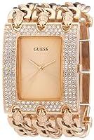 Reloj Guess Ladies Trend W0085L3 de cuarzo para mujer, correa de acero inoxidable color oro rosa de Guess