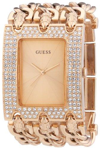Guess W0085L3 - Reloj de pulsera para mujer, color blanco/plata