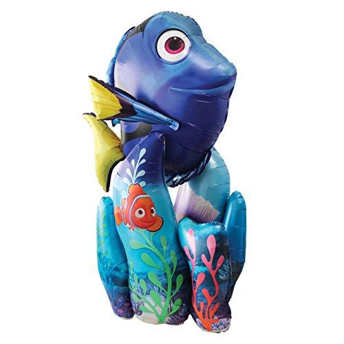(Giant 139cm finden Dory Nemo 1Stück AirWalker 'Ballon Fisch Coral Reef Hawaii Party Disney Pixar, unter dem Meer Dekoration)