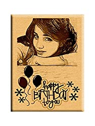 Happy Birthday - Unique Best Personalized Gift (5 x 4)
