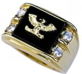 ISADY - Pascual Gold - Bague Homme - Chevalière - ...