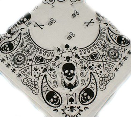 100-cotton-white-with-black-skulls-and-crossbones-paisley-effect-design-bandana-55cm-square-ideal-fo