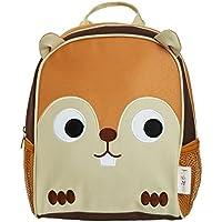 smileBaby Kinder Rucksack für die Kita den Kindergarten und Freizeit in verschiedenen Tiermotiven brauner Hamster
