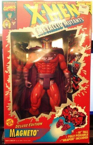 X-MEN Metallic Mutants Delux Edition Magneto Toy Biz 1994 by Toy Biz