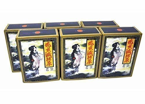 6 confezioni fei yan tè dimagrante perdere peso 120 tea bags