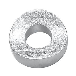 Vinani Anhänger Kreis gebürstet rund Sterling Silber 925 ACL-EZ