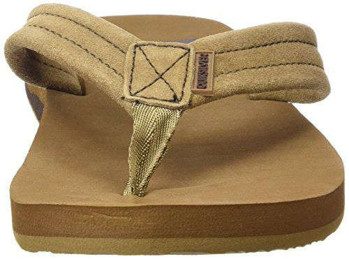 Quiksilver - Tongs - homme Multicolore (TAN - SOLID)