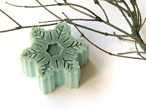 weihnachten-seife-schneeflocke-seife-blue-clay-seife-weihnachten-bevorzugungen-strumpf-stuffer-berga