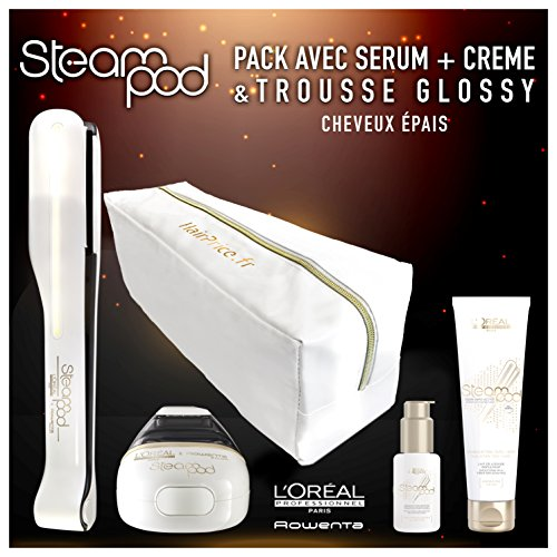 Pack Steampod 2.0 Trousse Glossy