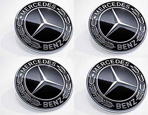 Für Mercedes-Benz 75mm Radnabenabdeckung Stern mit gebraucht kaufen  Wird an jeden Ort in Deutschland