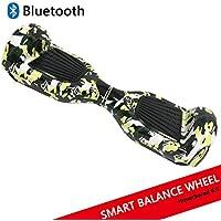 """Dragon Hoverboard con Ruote da 6,5"""" Monopattino Elettrico Autobilanciato Self Blance Scooter Skateboard Elettrico Smart Self Balance Board Colore Disegno (C-Green)"""