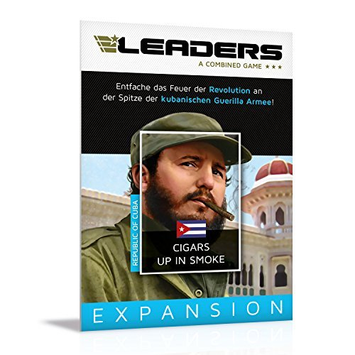 Rudy Games Cuba-Cigars Up in Smoke (Leaders Expansion)