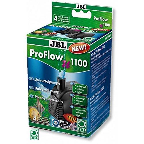 JBL ProFlow u1100 60584 Universalpumpe mit 1200 l/h zur Umwälzung von Wasser in Aquarien und Terrarien