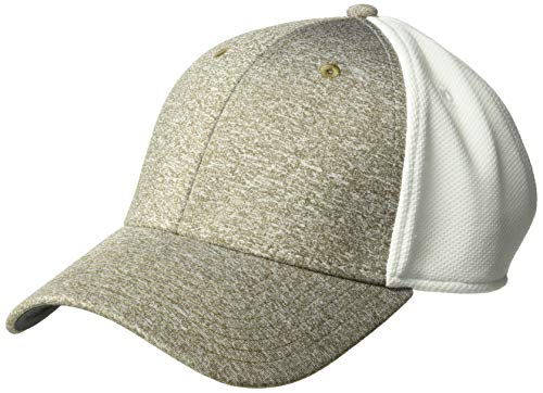 Ouray Sportswear Unisex-Erwachsene Heather Performance Mesh Back Cap Hut, Taupe White, Einstellbar Performance Womens Hut