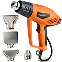 VonHaus 2000W Heat Gun – Remove Paint, Varnish, Dissolve Adhesives, Shape Plastic Tubing & More – 2 Heat Settings: 350°C & 550°C – For DIY, Home Improvement & Restoration