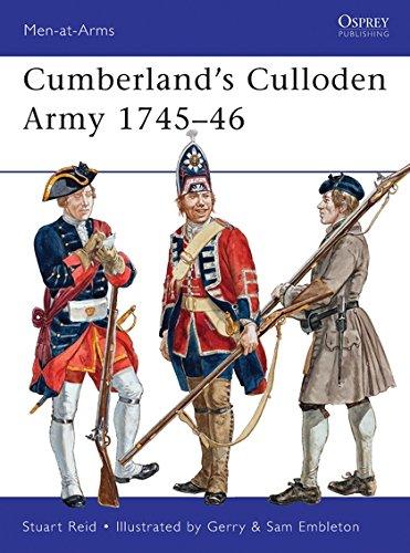 Cumberland's Culloden Army 1745–46 (Men-at-Arms) por Stuart Reid