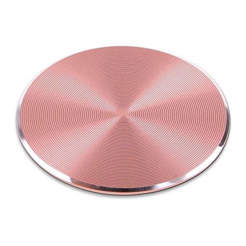XuBa 33 x 33 mm Metallplatte magnetisch Auto Handyhalterung Zubehör speziell verwendet für Magnet Telefonständer roségold Rose Gold