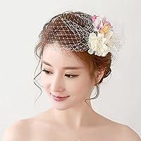 Sea views Serie fiori per bambini Bridesmaids Rosetta garza capelli ornamenti Corolla sposa Matrimonio Copricapo Corona / accessori abito da sposa
