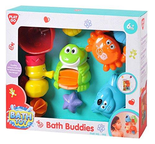 PlayGo Buddies Badetiere und Spielzeug für die Badwanne