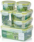 Zo&Mii Premium, Food Containers, Extra Strong, Airtight, 7 Piece Clip Lid,100% Leak Proof