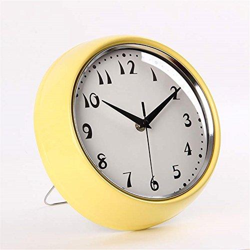 3, Wall Clock WERLM Einfache Wohnzimmer Wanduhr Retro Schlafzimmer Nicht  Digitalen Mute Wanduhr Wohnzimmer Uhren 10