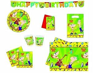 Disney - Mantel para fiesta Phineas y Ferb (7683)