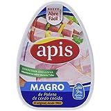 Apis Magro de Cerdo Cocido - Paquete de 12 x 220 gr - Total: 2640 gr