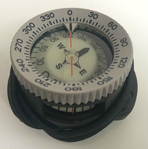 Polaris Bungee-Kompass PRO +/- 30° Tauchkompass Diving Compass
