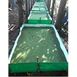 Real Trust 450 GSM HDPE Azolla Growing Bed for Cultivation, Black/Black (12ft x 4ft x 1ft)