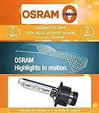Osram D2S 66240CBI Cool Blue Intense 35W 85V Xenarc 5500 Kelvin (2 Stück)